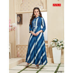 Zola Cotton Ladies Designer Kurtis