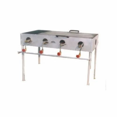 Stainless Steel Chapati Plate Cum Puffer