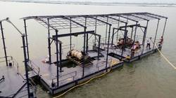 Floating Pump Pontoons