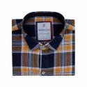 Collar Neck Check Shirt