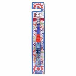 Budds Buddy Kids Toothbrush Blue, Pack Size: 16x2x1 cm