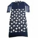 3/4th Sleeve Ladies Karera Kurti