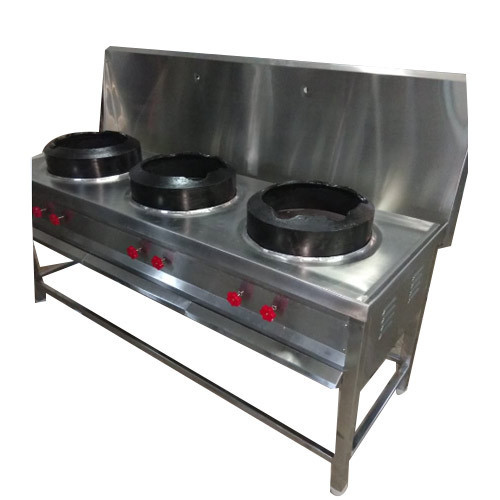 Three Burner Chinese Cooking Burner