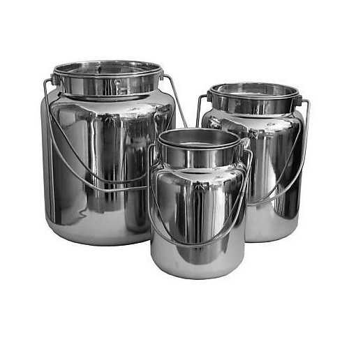 S Steel Buckets with Lid