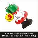 Circuit Breaker Lockout Pin In