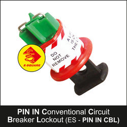Circuit Breaker Lockout Pin In