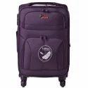 F Gear Torq 28 Inch Purple Polyester Strolley