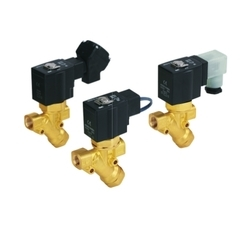 SMC 2 Port Solenoid Valve with Built-in Y-strainer VXK