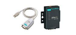 Moxa 1 Port USB to Serial Hub, RS-232/422/485