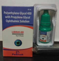 Polyethylene Glycol 400 & Propylene Glycol Drops