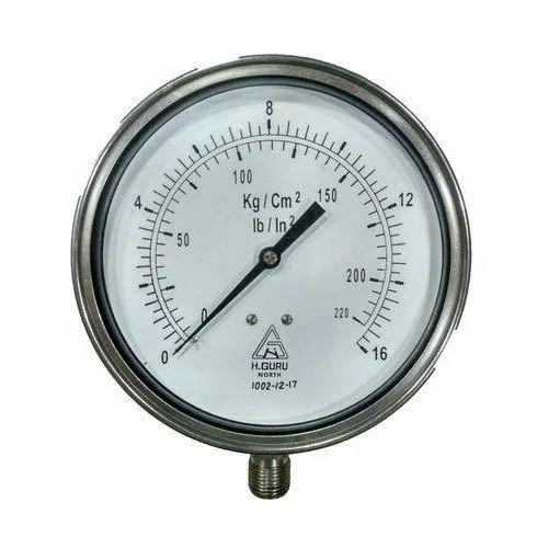 150MM Dial Commercial Pressure Gauge