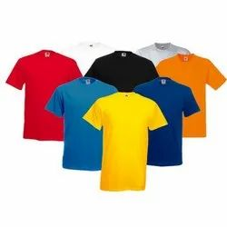 Men''''s Round Neck Plain T Shirt
