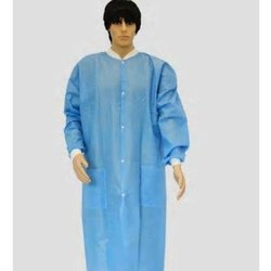 Blue Non Woven Patient Apron, For Hospital,clinic