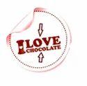 Chocolate Stickers Printing Service