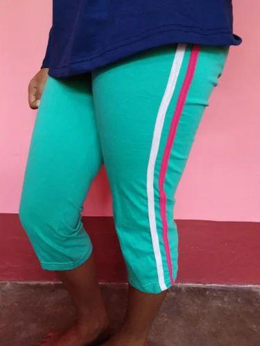 798dc3d7acb0fa Printed Ladies Cotton Capri, Rs 150 /piece, Mukti Garments | ID ...