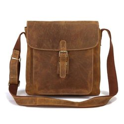 Brown Female Ladies Leather Shoulder Bag, Pure Leather: Yes