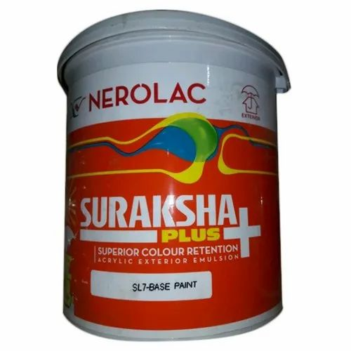 Nerolac Suraksha Plus Paint, Packaging Size: 20 L, Packaging Type: Bucket