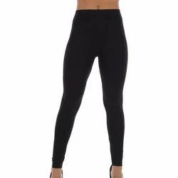 Ladies Churidar Cotton Lycra Leggings, Size: XL and Medium