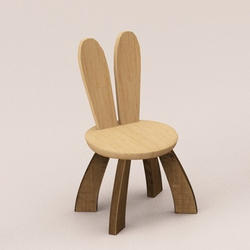 Rabbit Ear Kids Chair