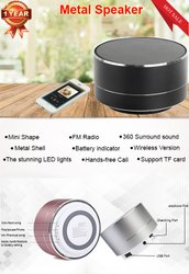 METAL Bluetooth Speakers