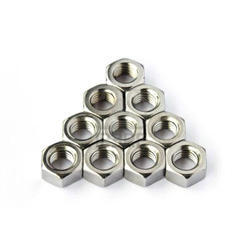 Accurate Fastners Hexagonal Stainless Steel Nut, Packaging Type: Box, Size: 3 Mm To 36 Mm