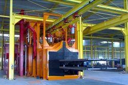 Manual Push Pull Beam Conveyor