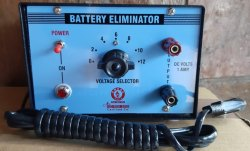 BATTERY ELIMINATOR 1 AMP