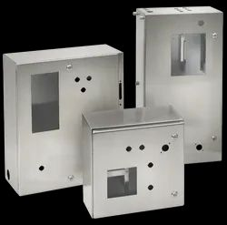 MS Offline Control Panel Box Fabrication Service, Commercial, Thickness: 0.4- 25 Mm