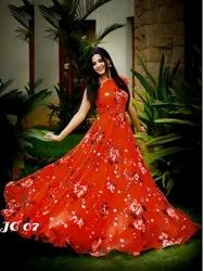 New Gown For Party Wear