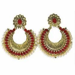 Copper Fashion Traditional Dangler Earrings