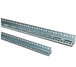 MS Slotted Angles - Mild Steel Slotted Angle Latest Price