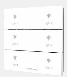 SENSINOVA - Kinetic Switch (Wireless / Battery Less)_SN-KS6GM