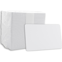 White Blank PVC Cards, Size: 86X54 Mm