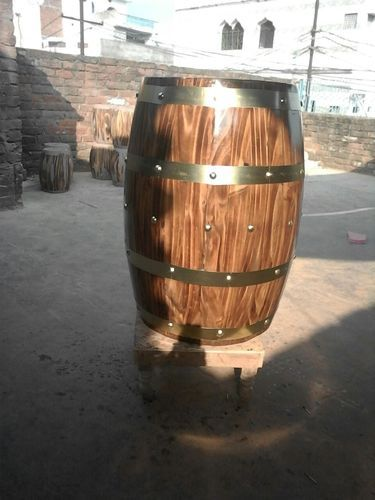 Decorative Wooden Barrels Wooden Barrels Wholesale Trader From Noida