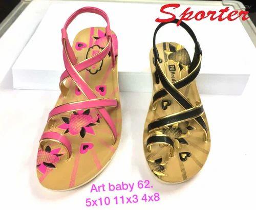 Sporter Canvas Kids Multi Baby Girls (Size-4 To 8) Fashion Sandals ...