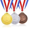 Customize Numeric Medal