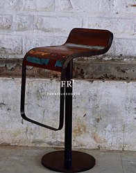 Bar & Pub Furniture - Rustic Bar Stool - Hotel & Resort Bar Stools - Designer Vintage Bar Stools