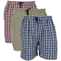 L To Xxl Multicolor Mens Cotton Boxer, Packaging Type: Hanger Carry Beg