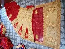 Bridal wear Georgette Designer Georget lahanga style sarees