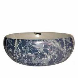 Gayatri Ceramic Imperial 1060 Table Top Wash Basin, For Bathroom, 480x330x145 Mm