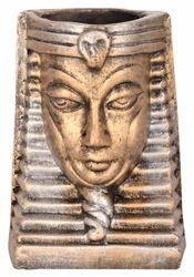 Decorative Terracotta Egyptian Mummy Vase/Pen Stand