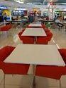 Merino Hyundai Hanex Acrylic Solid Surface Restaurant Table