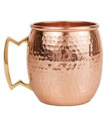 Antique Hammered Moscow Mule Copper Mugs
