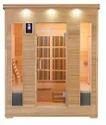 Infrared sauna with Stone heater