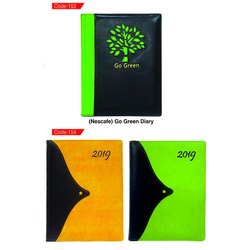 Multicolor Promotional Executive Diaries