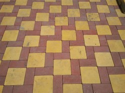 Square Cement Flexi Paver Block for Pavement, Thickness: 15-50 mm