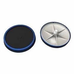 Diffused Aerations Clarifier Fine Bubble Disc Diffuser EPDM Silicon, 1 (m3/h)