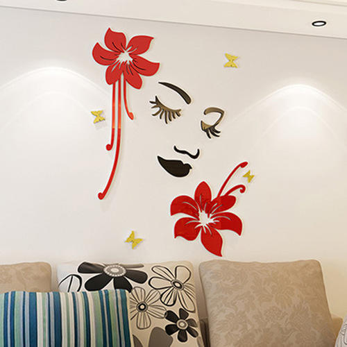 wall 3d acrylic sticker at rs 200 /piece | alambagh | lucknow | id