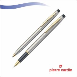 Pierre Cardin Pen Set (Kriss Satin Nickel)
