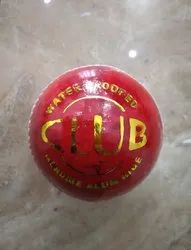 Water Proof Club Leather Cricket Ball